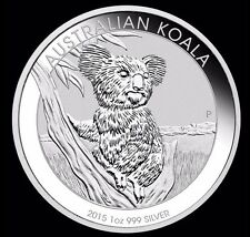 Australian Koala 2015 1oz X3 Silver Pure Silver Perth Mint Proof Coin 1Dollar