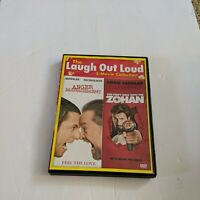 Laugh Out Loud 2 Movie Collection Dvd Zohan & Anger Management