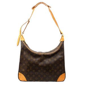 LOUIS VUITTON Shoulder Bag Boulogne 35 Monogram Brown M51260