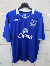 Maillot EVERTON Umbro shirt Chang bleu football anglais L