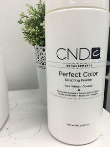 CND Enhancements Perfect Color Sculpting Powder 907g- Pure White- Opaque