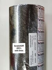 Hot Stamping Foil, SCOFF-400L Scratch Off Foil, 24 in x 1000 ft, Propi USA