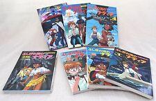 Set of 7 Secret of Blue Water Nadia Film Books Vol.1-6+Movie JAPAN ANIME COMICS