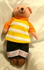 kleiner Teddy mit Ringelpulli Sammlerteddie knuffiger Teddie Bär zum Sammeln