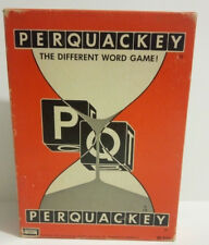 Vintage 1965 PERQUACKEY Word game-Complete-Great Condition! Lakeside Toys