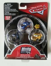 Disney CARS 3 mini micro racers metallic mattel 3 cars SAETTA Jackson Storm Cruz
