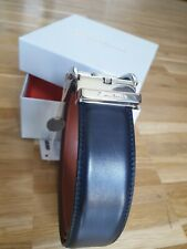 Santoni Gürtel dunkelblau Neu mit OVP 44/110 kürzbar