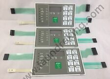 F0231582-07 (3) PIECES HIGH QUALITY BRAND NEW KEYPAD FOR HUEBSCH BC WASHER