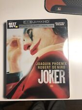 Joker Steelbook [4K/Blu-Ray/Digital] BestBuy USA