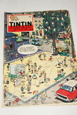 TINTIN JOURNAL N°24-1959  EDITION BELGE COUVERTURE MITTEI BD