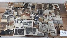 Konv Alter Fotos-Postkarten  ca. 1900-1940