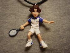Prince Of Tennis Eiji Kikumaru Figure Charm Necklace Collectible Jewelry