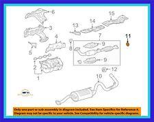 Genuine OEM Lexus ES350 Toyota Tacoma Exhaust Muffler Tail Pipe Center Gasket