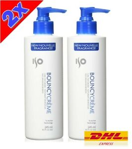 2x ISO BOUNCY CREME Hair Care Styling Curl Texturizer Energizer Curly Wavy