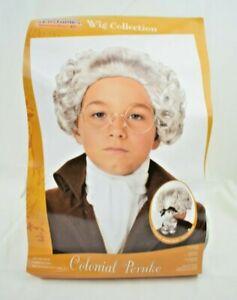 California Costume Collections Colonial Peruke Wig - Boys Costume Accessory New