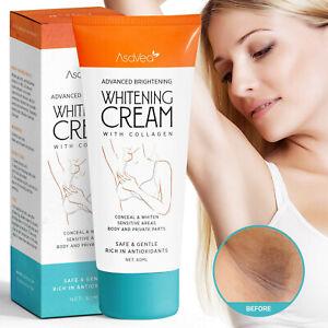AsaVea Advanced Whitening Cream with Collagen - Lightening Brightening Skin 60ml