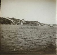 Costantinopoli Turchia Placca Da Lente Stereo Vintage Ca
