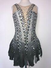 Sale! New Figure Ice Skating Baton Twirling Dress Costume Adult Xs
