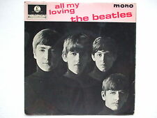 THE BEATLES - ALL MY LOVING+3 45 7'' EP 1963 MONO UK GEP 8891 LENNON McCARTNEY