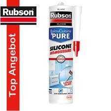 Rubson Anti-Schimmel Silikon, Sanitärsilikon weiß 280ml