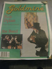 GOLDMINE magazine - Bob Dylan cover (w/ The Band) July 26, 1991 vg++