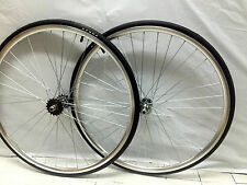 Single Speed  wheels  Fixed Fixie 700c flip-flop hub wheel set