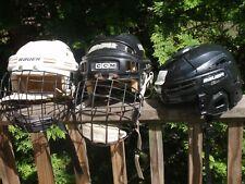 Lot Of 3 Hockey Helmets Bauer Ccm