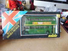 SOLIDO FRANCE 4404 BUS GREEN LINE LONDON COUNTRY état neuf en boite d'origine