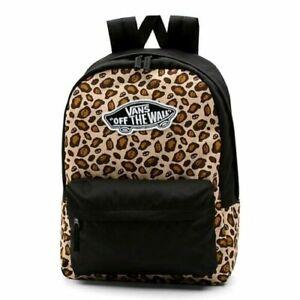VANS Realm Leopard Skull Backpack Laptop Sleeve NWT