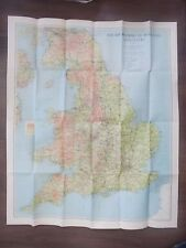 YOUTH HOSTELS IN ENGLAND AND WALES - BARTHOLOMEWS SHEET MAP