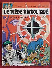 BLAKE ET MORTIMER BD JACOBS LE PIEGE DIABOLIQUE REEDITION  1974