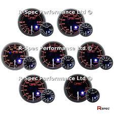 ANY 3 GAUGE OFFER - NEW 52mm Clear Lens Peak Warn Premium Gauges Turbo Boost Oil