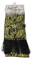 Bufandas de hombre en color principal negro 100% seda