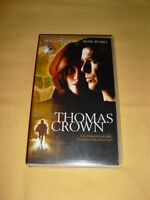 Thomas Crown VHS Pierce Brosnan Rene Russo