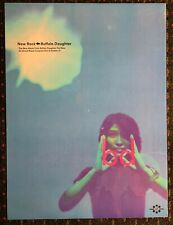 Buffalo Daughter New Rock 18x24 promo poster 2sided Japanese indie Grand Royal