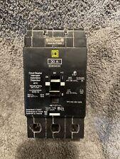 Square D Edb34030 Circuit Breaker