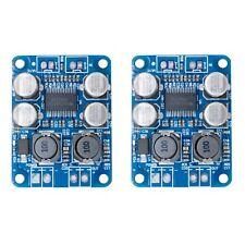 2 Pack DC 12V-24V TPA3118 BTL 60W Mono Digital Audio Amplifier Board Module M374