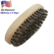 US Men 100% Wild Boar Bristles Bristle Beard Brush Mustache Styling