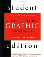 Architectural Graphic Standards Student Edition: An Abridgement of the 9th Ed…
