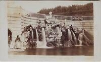 Carlo Ponti Napoli Fontana Italia CDV Foto Vintage Albumina c1860-5