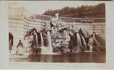 Carlo Ponti Naples Fontaine Italie Cdv Photo Vintage Albumine c1860-5
