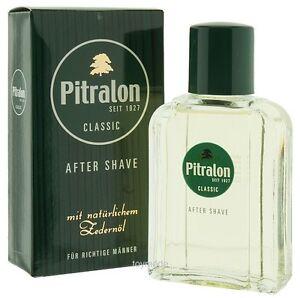 PITRALON CLASSIC After Shave Rasierwasser 100 ml Männlich +natürlichem Zedernöl