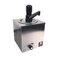 Hot Melted Butter Dispenser Pump, Nacho Cheese Warmer Popcorn Condiment Melter