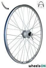 700c wheelsON Front Wheel Shimano Dynamo Nexus DH-3000-3N QR Silver 6v/3w