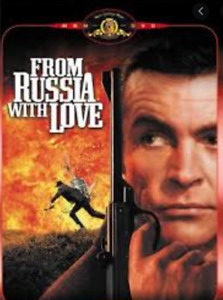 FROM RUSSIA WITH LOVE SPECIAL (DVD, 1963) VGC - FREE POST