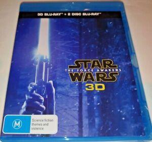 The Star Wars - Force Awakens Blu-ray 3D