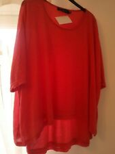 join one size fine layered tunic pink
