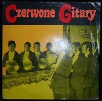 "Czerwone Gitary - Self Titled 7"" EP Poland 1969 MEGA RARE POLISH PSYCH ROCK"