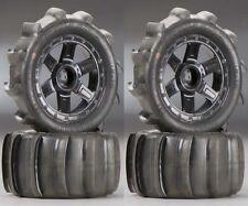 PRO-LINE 10101-10 FRONDE Tir 5.6cm sable Pneus / roues monté 1/16 E-REVO (4)