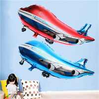 31 inch Flying Plane Shape Balloon Airplane Foil Helium Balloon Party Decor SP